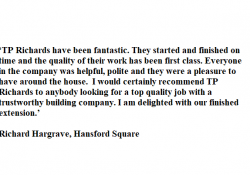 Richard Hargrave, Hansford Square